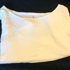 🎃AEO long sleeve crop top